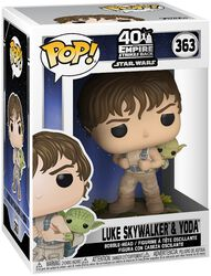 Empire Strikes Back 40th Anniversary -  Luke Skywalker & Yoda Vinyl Figure 363