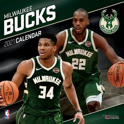 Milwaukee Bucks - Kalendar 2021