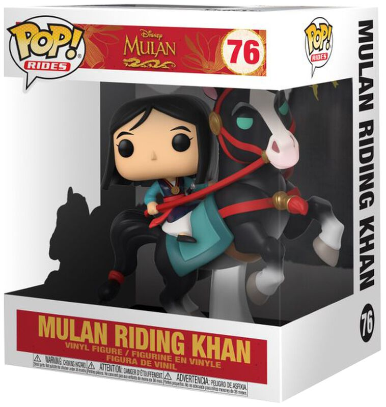 Mulan on Khan POP! Rides Vinyl Figure 76
