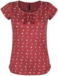 Ladies Anchor & Steering Wheels Allover Shirt