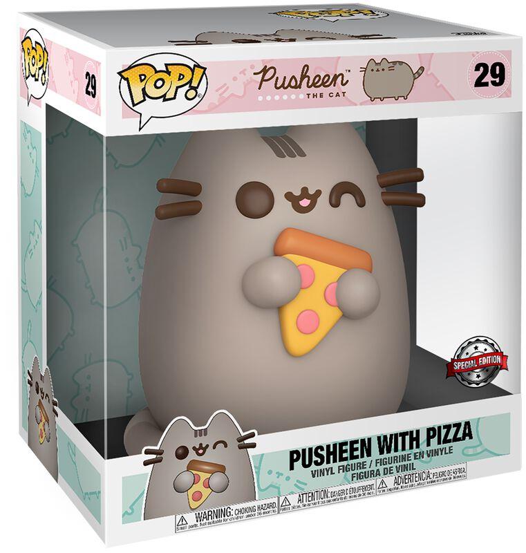Pusheen with Pizza (Life Size) Vinyl Figure 29