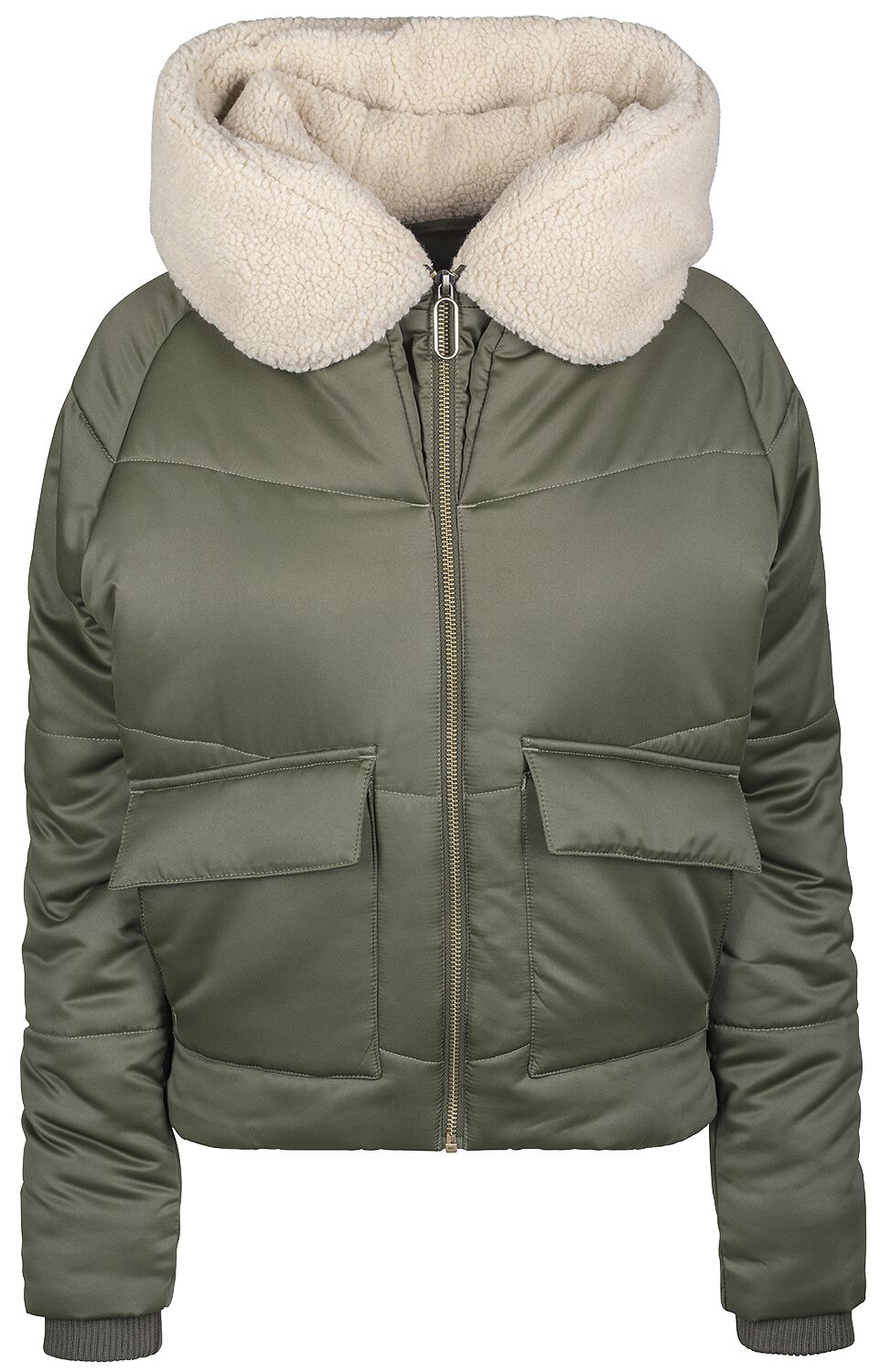 8b676967ca1e Ladies Sherpa Hooded Jacket. Vinterjakke