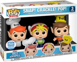Kellogg's Snap Crackle Pop - Rice Krispies (3-pak) (Funko Shop Europe)