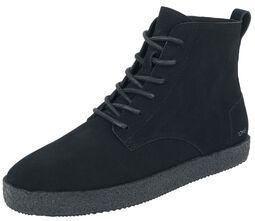 Teton Black / Black Suede