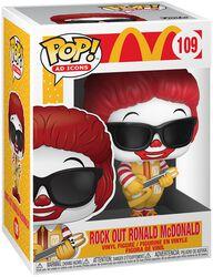 Mc Donalds Rock Out Ronald McDonald Vinyl Figur 109