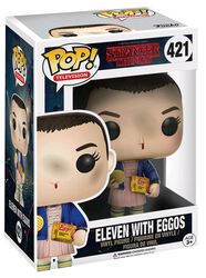 Eleven with Eggos (Chase mulig) Vinyl Figure 421