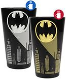 Bat Signal - glas med termoeffekt