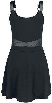 Short Dress with Bondage Details
