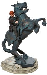 Ron on a Chess Horse Masterpiece Figur