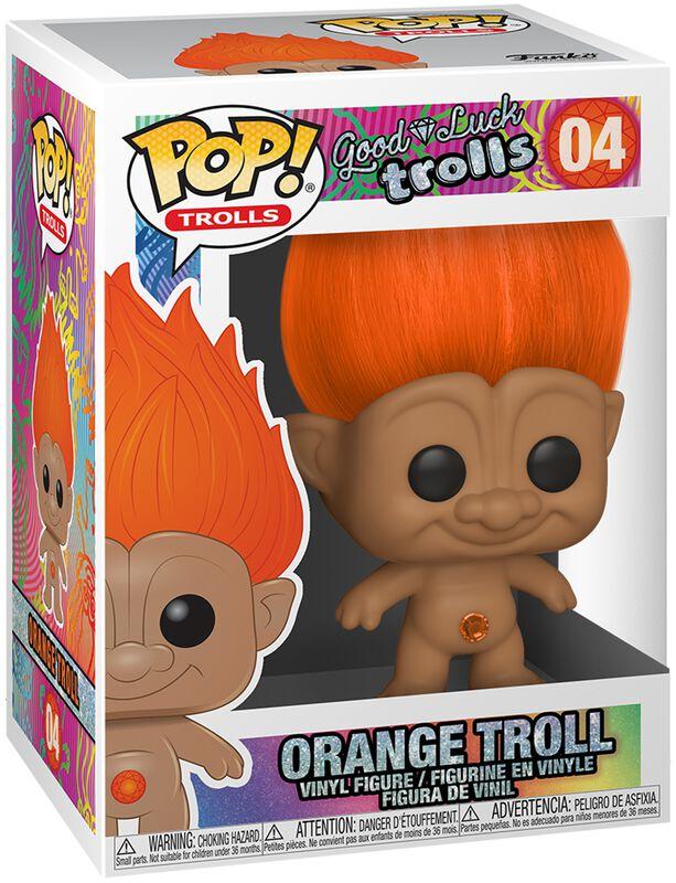 Orange Troll Vinyl Figure 04
