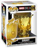 Marvel Studios 10 - Groot (Chrome) Vinyl Figure 378
