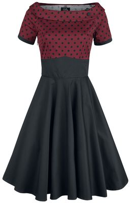 Darlene Retro Polka Dot Swing