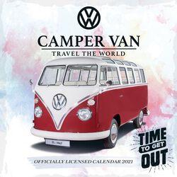 2021 Vægkalender - Camper Vans