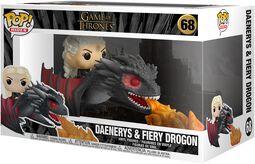Daenerys and Fiery Drogon POP Rides Vinyl Figure 68