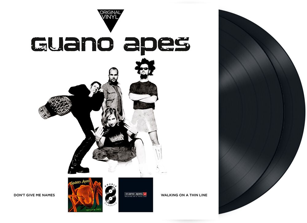 Original vinyl classics: Don't give me names + Walking on a thin line
