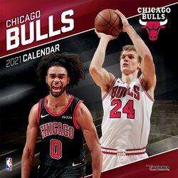 Chigago Bulls - Kalendar 2021