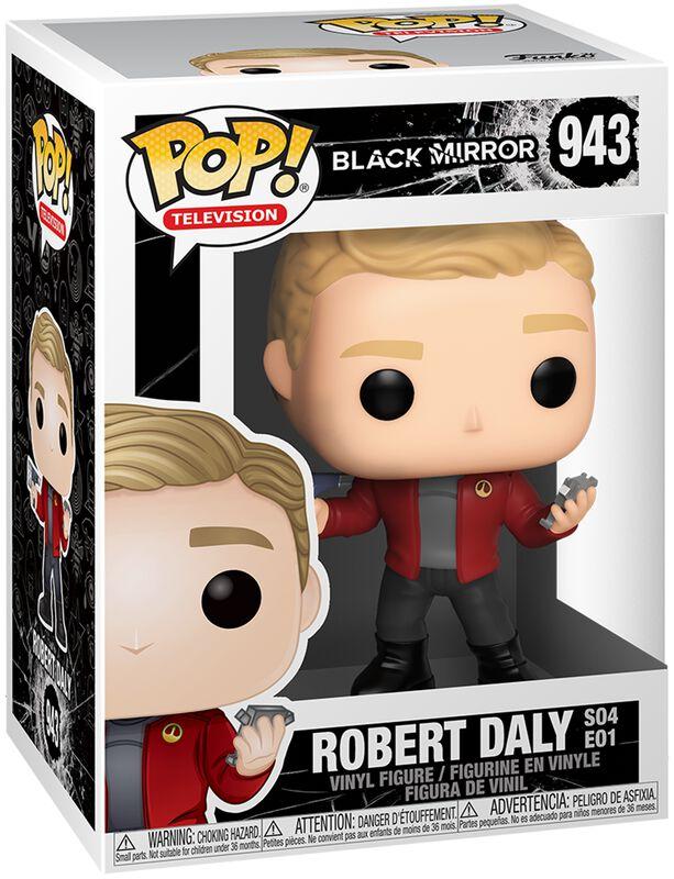 Black Mirror Robert Daly Vinyl Figure 943