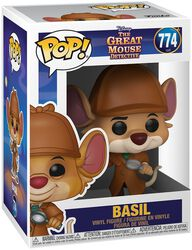 Mesterdetektiven Basil Mus Basil Vinyl Figure 774