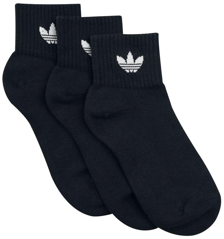 Mid Ankle Sokker 3-Pak