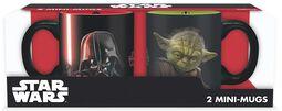 Vader vs Yoda -  Espressokop, sæt
