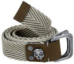 Belt with Skull Detail