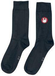 Black Socks with EMP Logo
