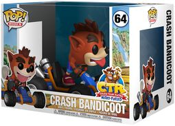 Crash Bandicoot POP Rides Vinyl Figure 64