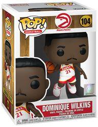 Atlanta Hawks - Dominique Wilkins (Home Jersey) Vinyl Figure 104