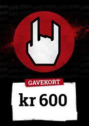 Gavekort 600,00 DKK