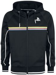 Playstation Colour Stripe Print