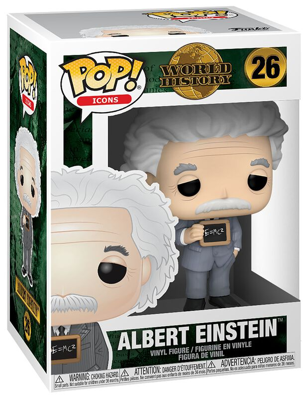 World History - Albert Einstein Vinyl Figure 26