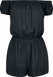 Ladies Off Shoulder Short Jumpsuit