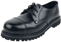 Black Lace-Up Shoes