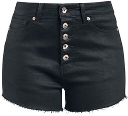 Hotpants med knapper