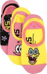 Vans x Spongebob Canoodles Best Buddies 4 Life, 3-Pak