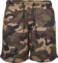 Camo Mesh Shorts