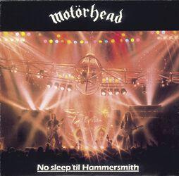 No sleep 'til Hammersmith