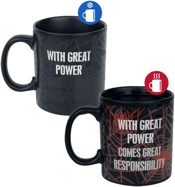 With Great Power - motivskiftende krus