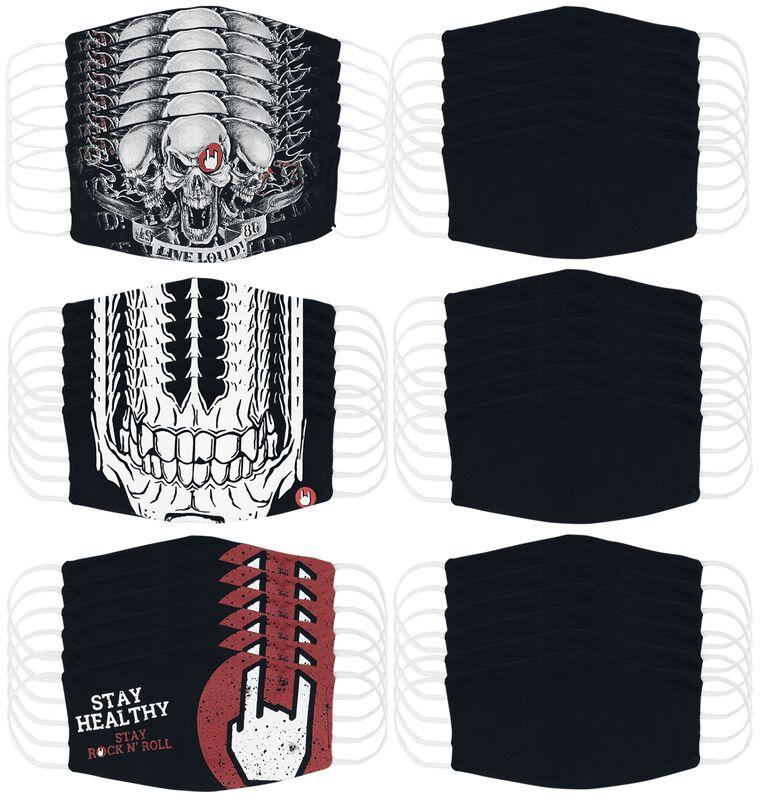 Masks & Costumes - 36er Bundle Small Size
