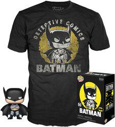 Batman (Sun Faded) T-Shirt plus Funko - POP! & Tee