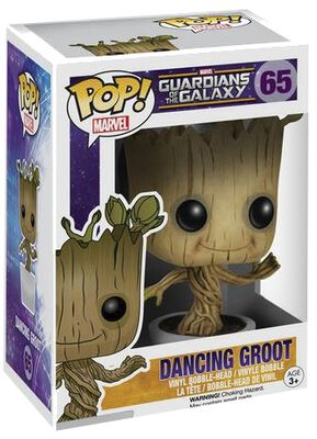 Dancing Groot Vinyl Bobble-Head 65