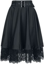 Belsira Flared Retro Skirt