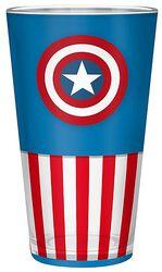 Captain America Glas