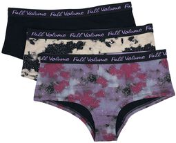 Multi-Colour Panty Set with Galaxy Print