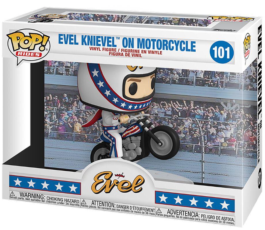 Evel Knievel Evel Knievel (Pop! Rides) Vinyl Figur 101