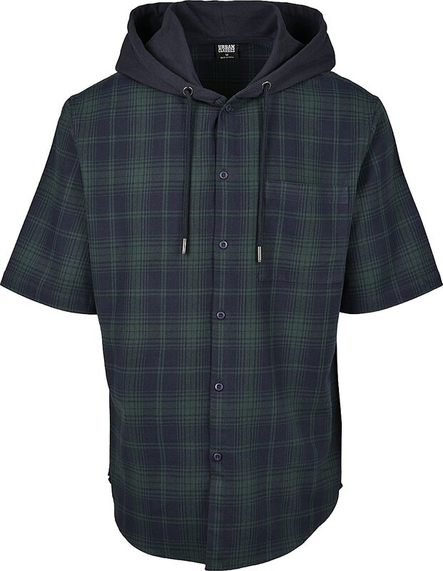 Hooded Short Sleeve Shirt