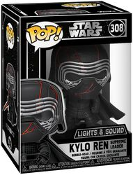 Episode 9 - The Rise of Skywalker - Kylo Ren  (Lights and Sound) Vinyl Figure 308