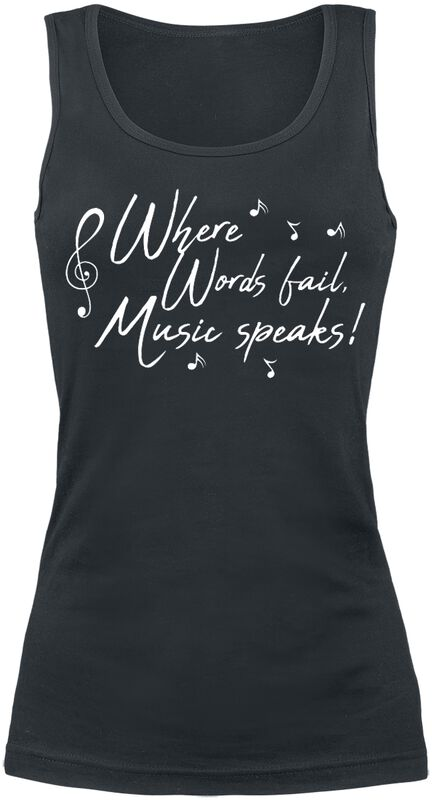 Where Words Fail, Music Speaks!