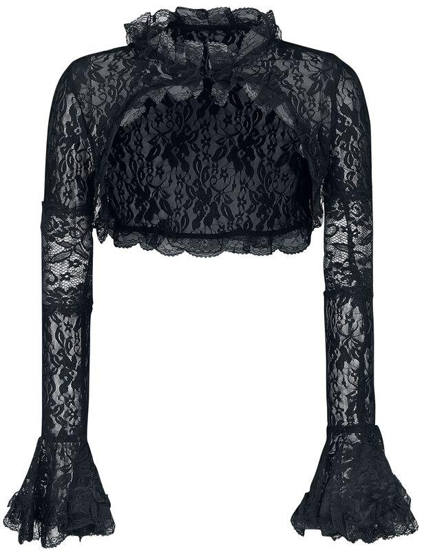 Lace Gothic Bolero