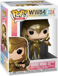 1984 - Wonder Woman Golden Armor Flying Vinyl Figure 324
